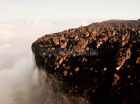 the bizarre rock formations at the