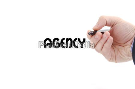 agentur nur textkonzept