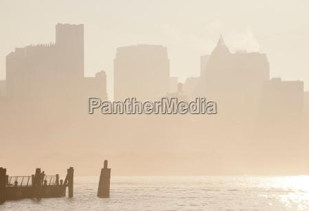 south, street, seaport, manhattan, new, york, city, usa - 19458660