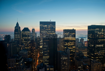 manhattan new york city usa