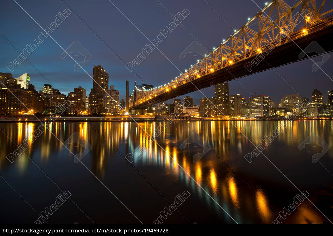 ed, koch, queensboro, bridge, at, dtwilight, roosevelt - 19469728