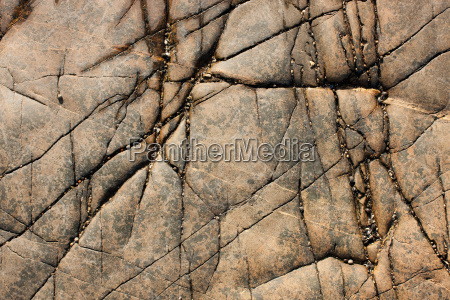 cracked rock