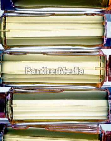 perfume bottles abstract