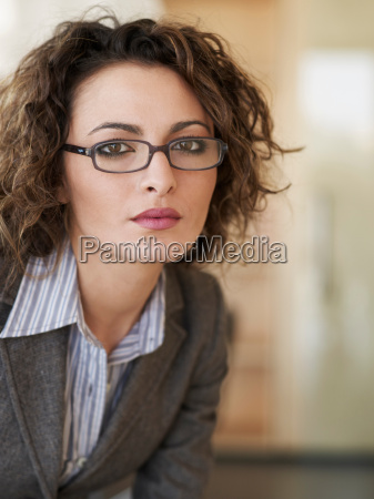 portrait of casual business woman