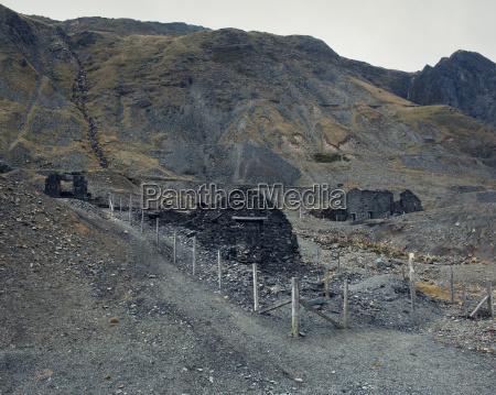 cwmystwyth slate mines powys wales