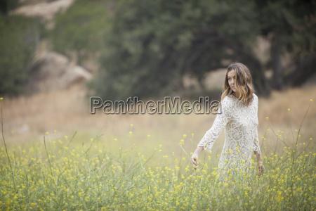 woman in park stoney point topanga