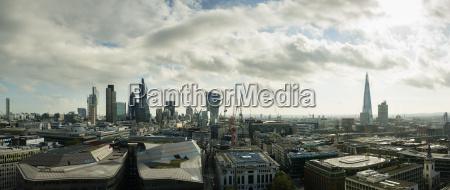 city of london panoramic view london