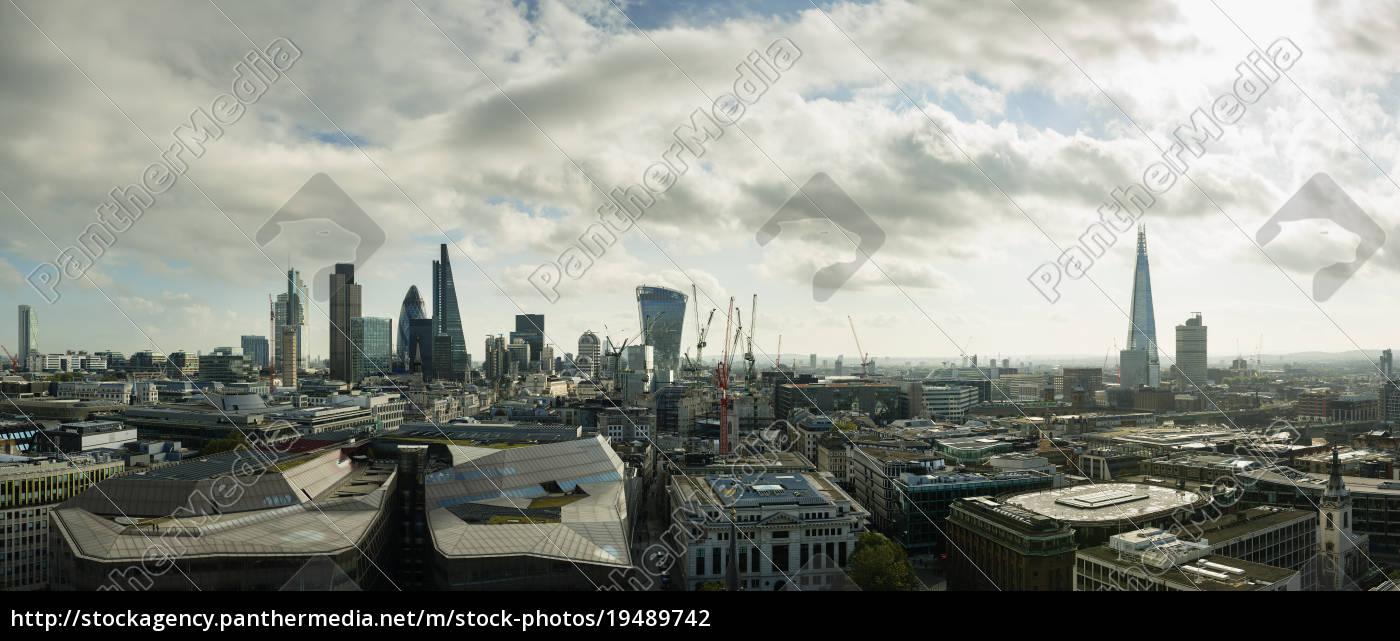 city, of, london, panoramablick, london, england, großbritannien - 19489742
