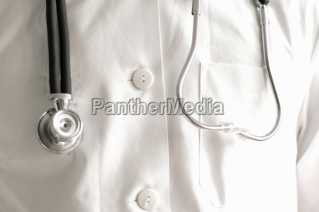 close up of stethoscope and lab