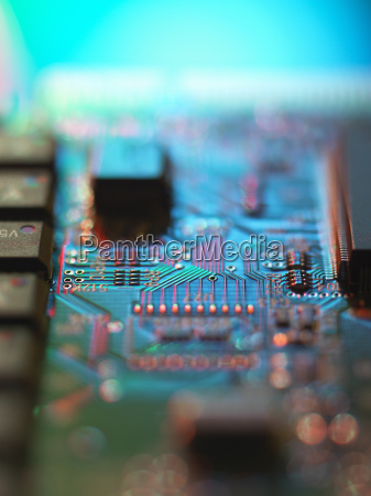 details of computer circuit board