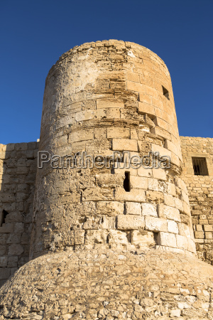 tower at old fort djerba tunisia