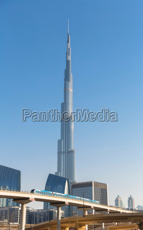 burj khalifa in dubai vereinigte arabische