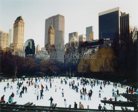 ice skating in central park new