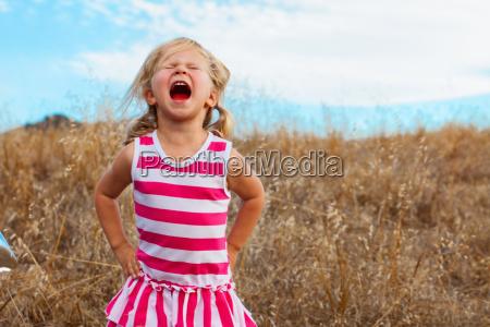 girl shouting mt diablo state park