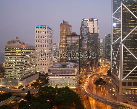 high angle of view of hong