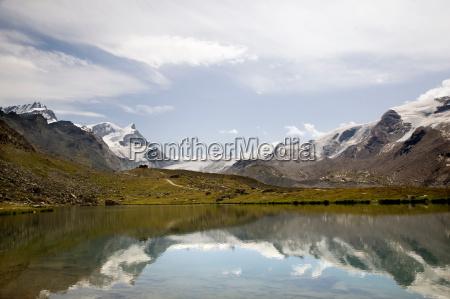 fahrt reisen umwelt horizont alpen reflexion