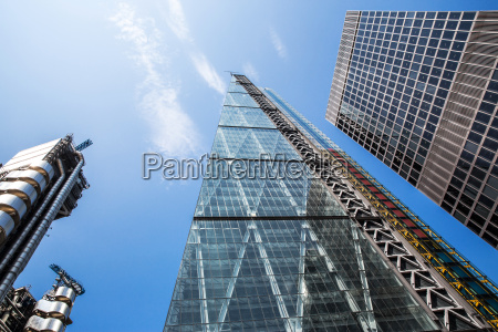 the cheesegrater building low angle view