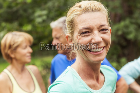 portrait, of, mature, woman, , outdoors, , smiling - 19534302