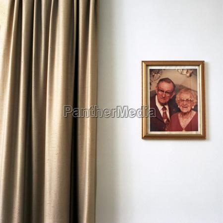portrait photograph of senior couple