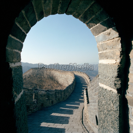 the great wall o china seen