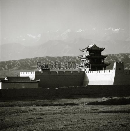 the jiayuguan fort first pass at