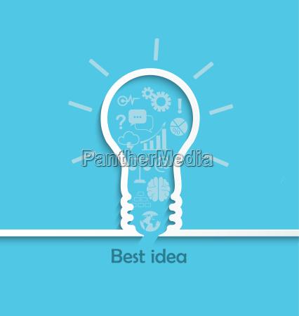 konzept der grossen idee