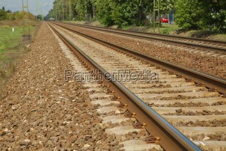 railroad track pair