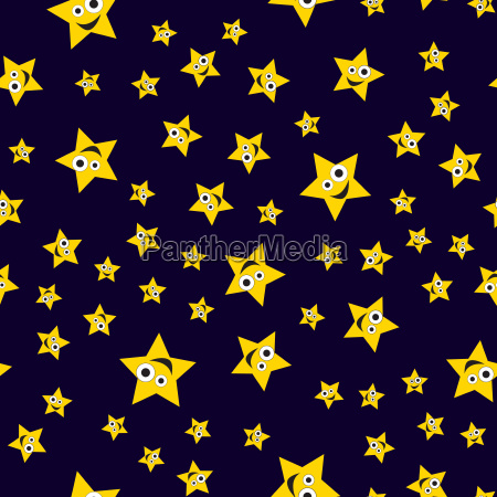 seamless pattern ridiculous stars