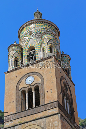 amalfi cathedral tower