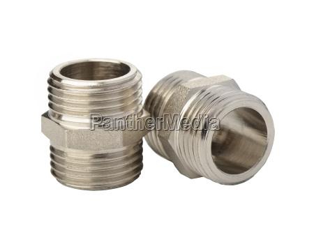 befestigungselemente aus metall fuer flexible schlaeuche