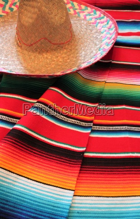 mexico poncho serape mexican traditional cinco