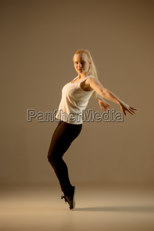 the women dancing hip hop choreography