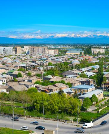 gori cityscape georgia