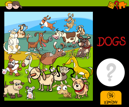 counting game with spotted dogs