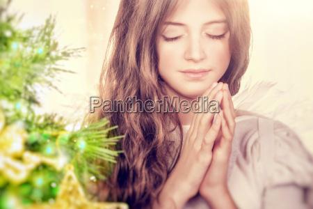 schoener engel beten