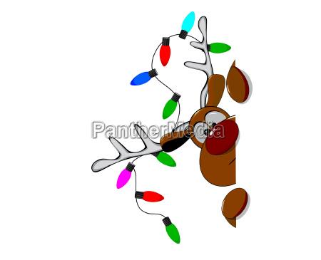 nettes weihnachtsren rudolph 3
