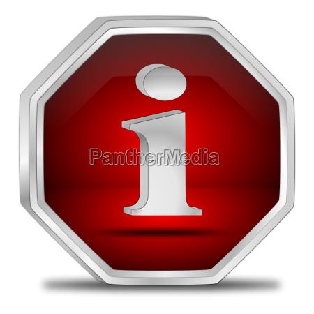 info dienst suchen knopf button daten