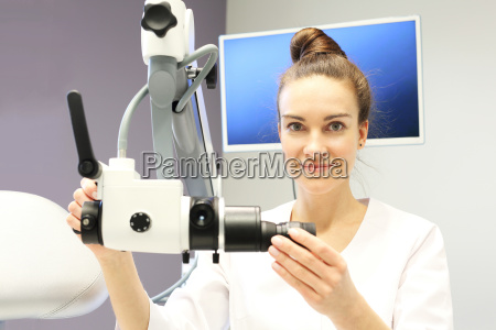 hospital ward gastrologist prepares the study