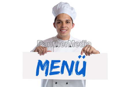 menu card menu card food lunch