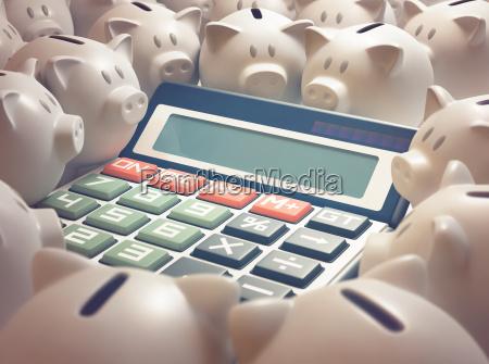 piggy bank finanzrechner
