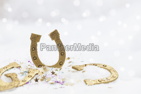 happy new years greetings in snow