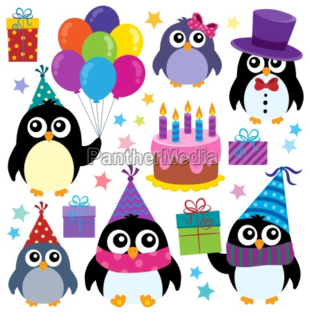 party penguins theme set 1