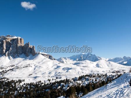 winter dolomiten alpen voralpen italien