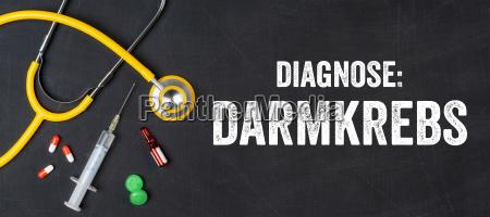 stethoskop und medikamente darmkrebs