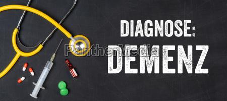 stethoskop und medikamente demenz