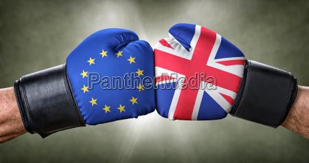 boxkampf europaeische union gegen grossbritannien
