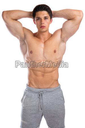 bodybuilder bodybuilding muscles pose body building