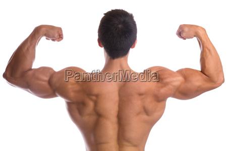 bodybuilder bodybuilding muskeln ruecken posen bizeps
