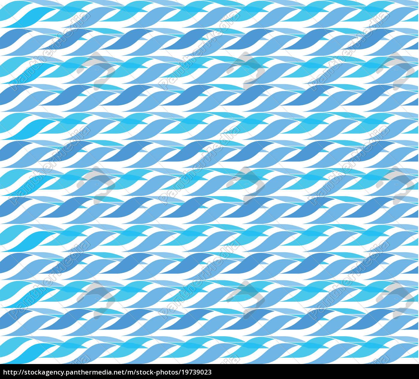 Lizenzfreies Bild 19739023 Wellen Muster Abstrakt