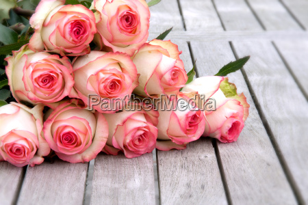 bouquet with rose for mothers day